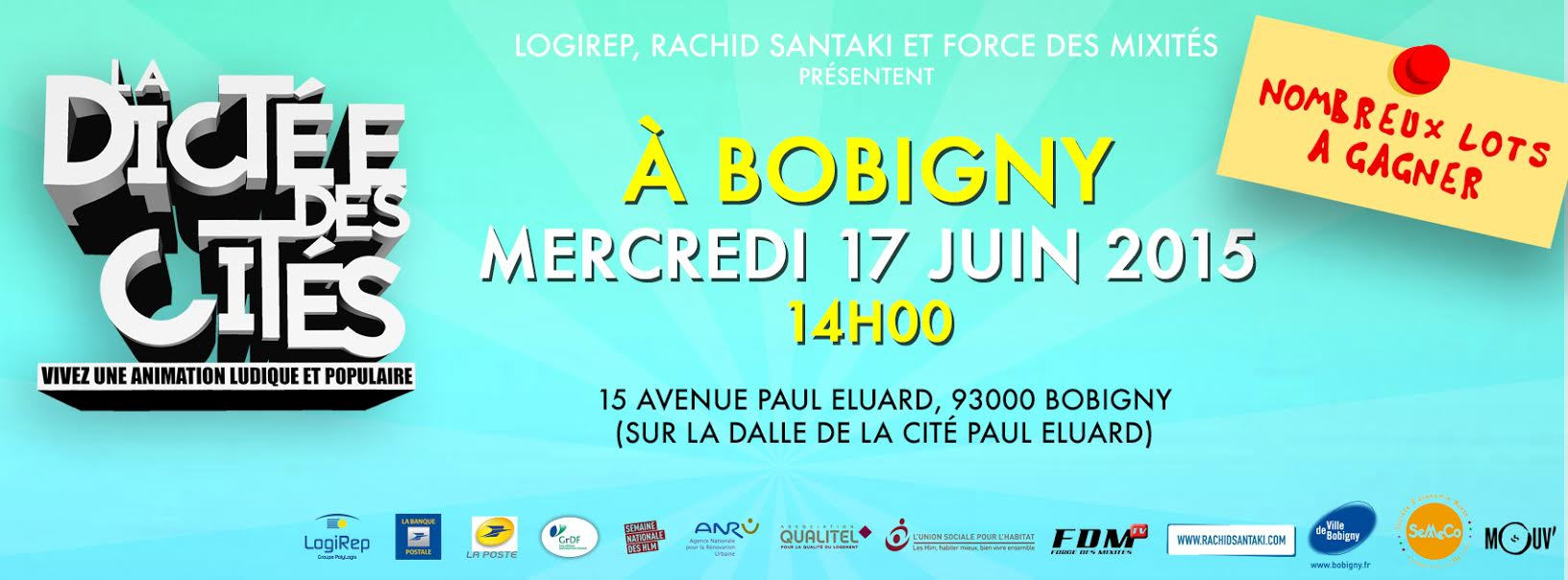 COVER Dictée des Cités Bobigny